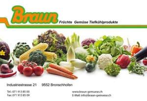 Ende August - Besichtigung Braun @ Braun Gemüse AG